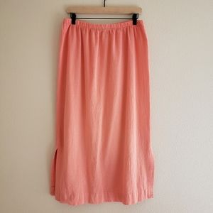 Vintage Saint Germain Paris Cotton Midi Skirt